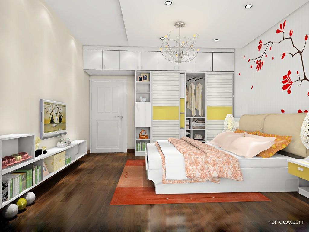 新实用主义卧房家具A18031