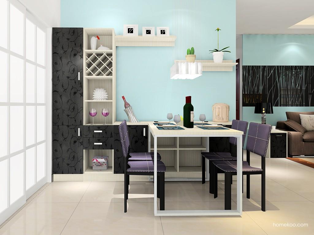 米兰剪影餐厅家具E16847