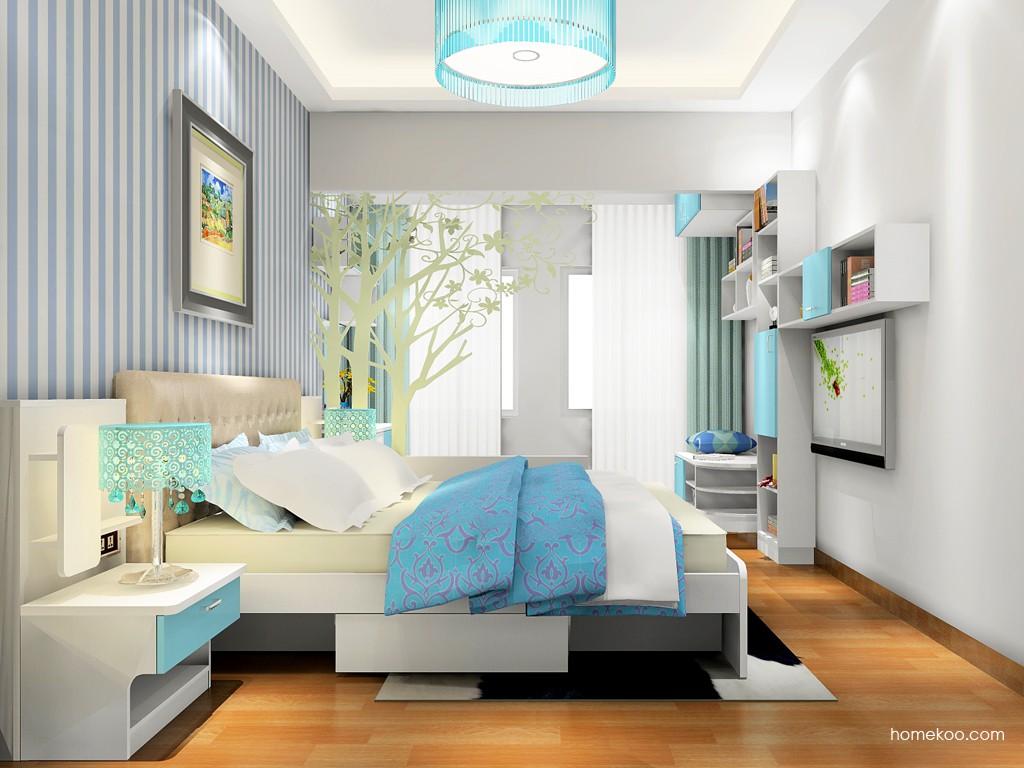 浪漫主义卧房家具A18035