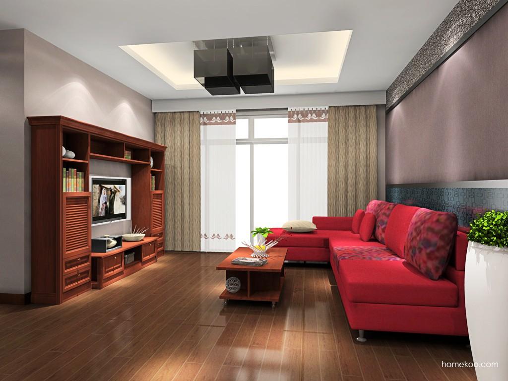 新中式主义客厅家具D16848