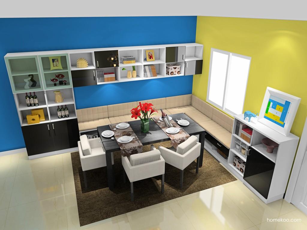 简约主义餐厅家具E16850