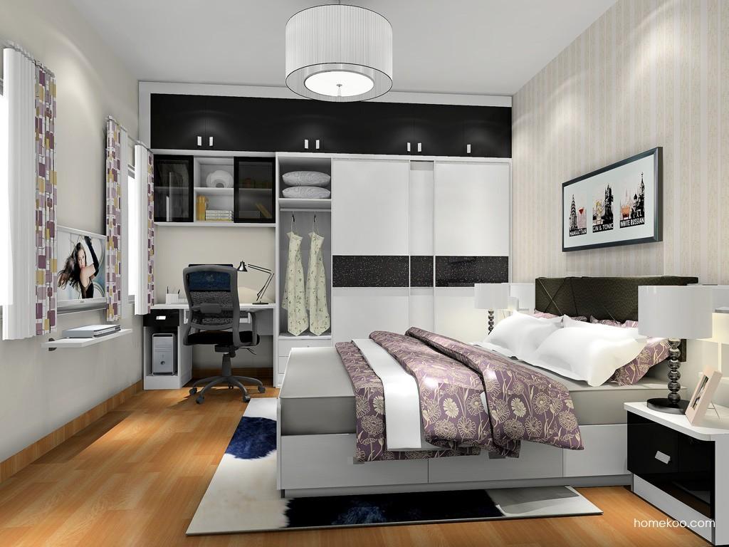简约主义卧房家具A18036
