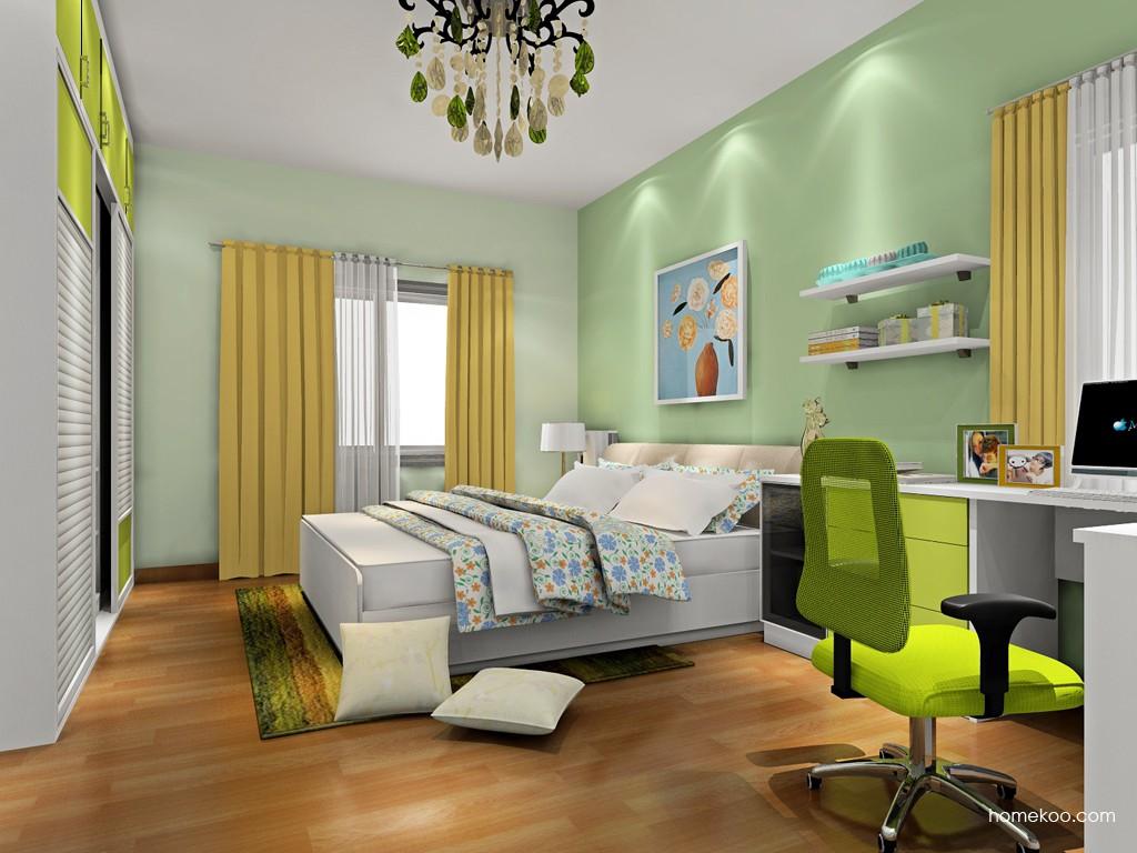 里昂春天卧房家具A18041
