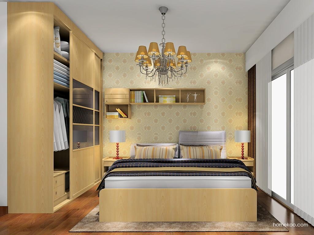 北美枫情卧房家具A18044
