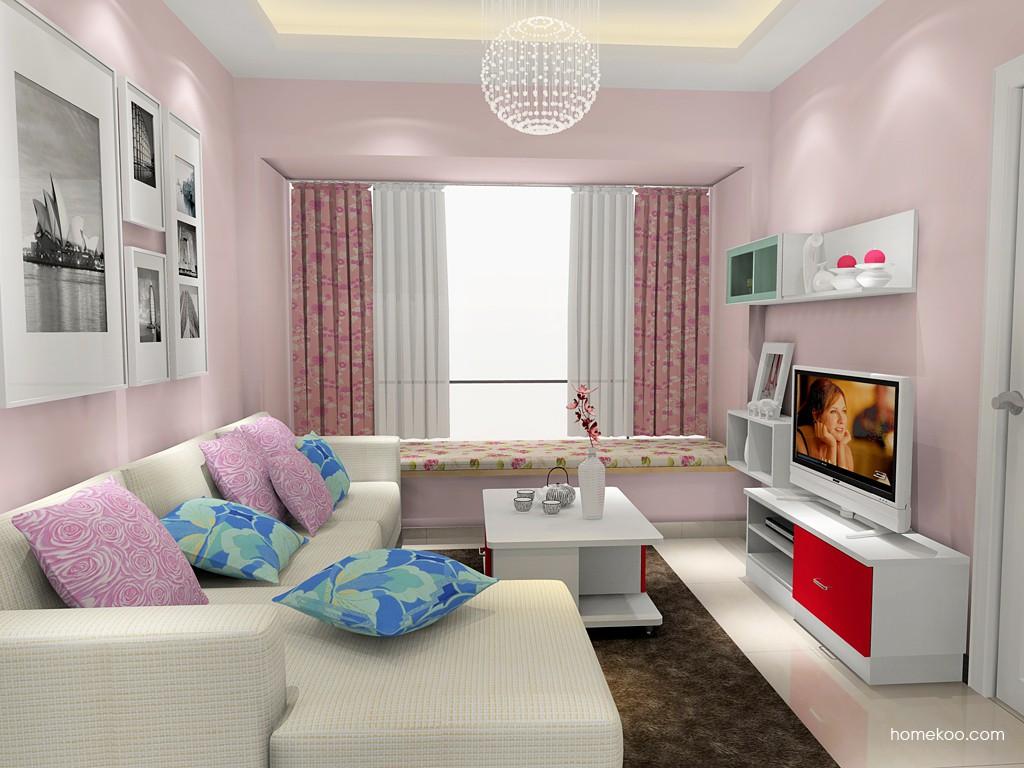 浪漫主义客厅家具D16850