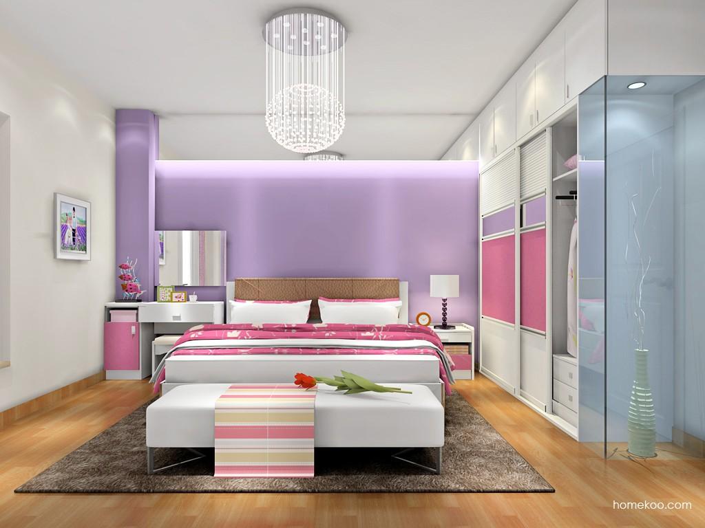 浪漫主义卧房家具A18047