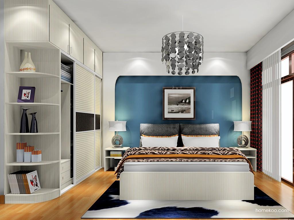 米兰剪影卧房家具A18049