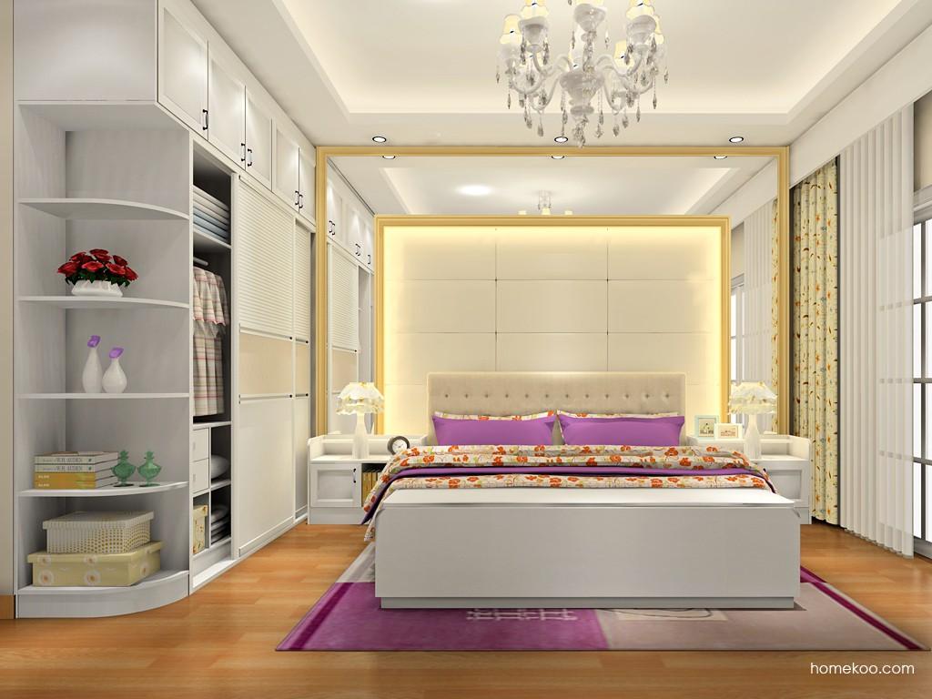 韩式田园卧房家具A18071