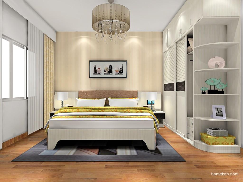 米兰剪影卧房家具A18074