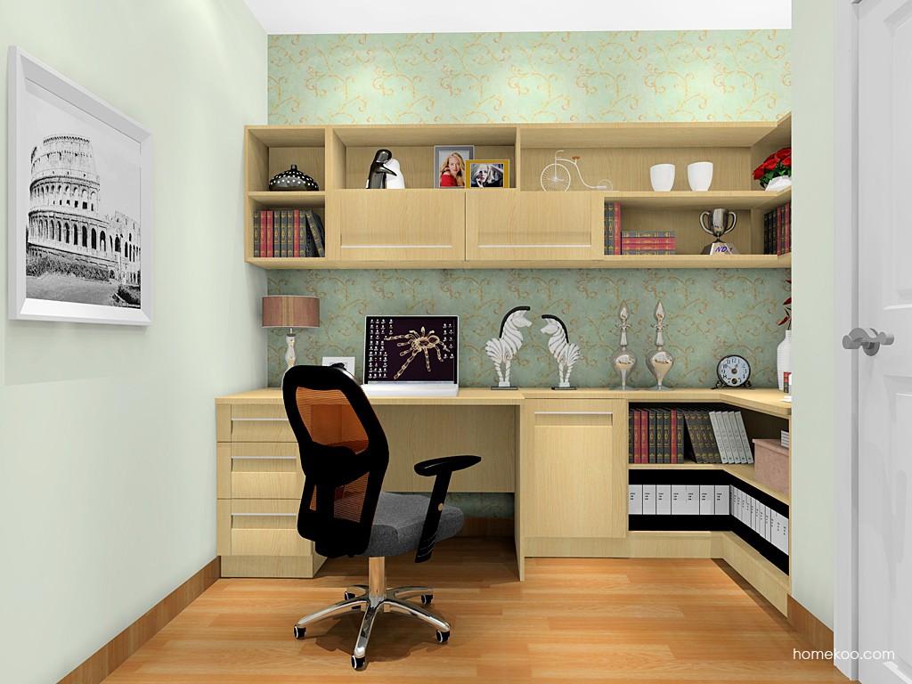 丹麦本色书房家具C18389