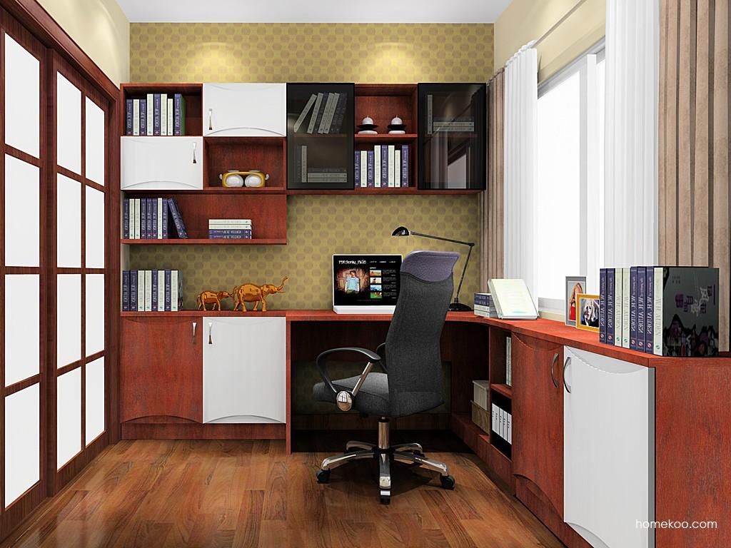 挪威月色书房家具C18392