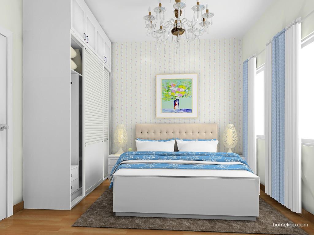 韩式田园卧房家具A18080
