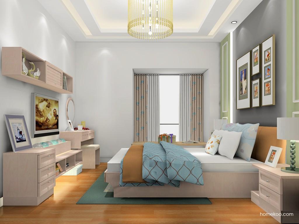 北欧阳光卧房家具A18081