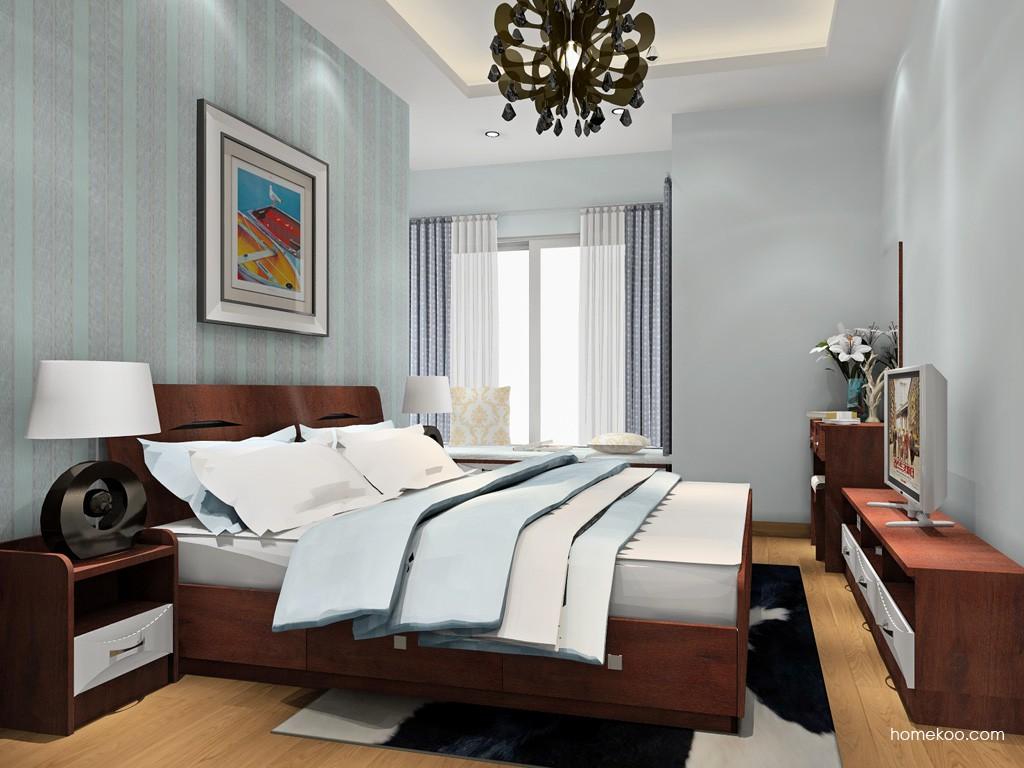 挪威月色卧房家具A18084