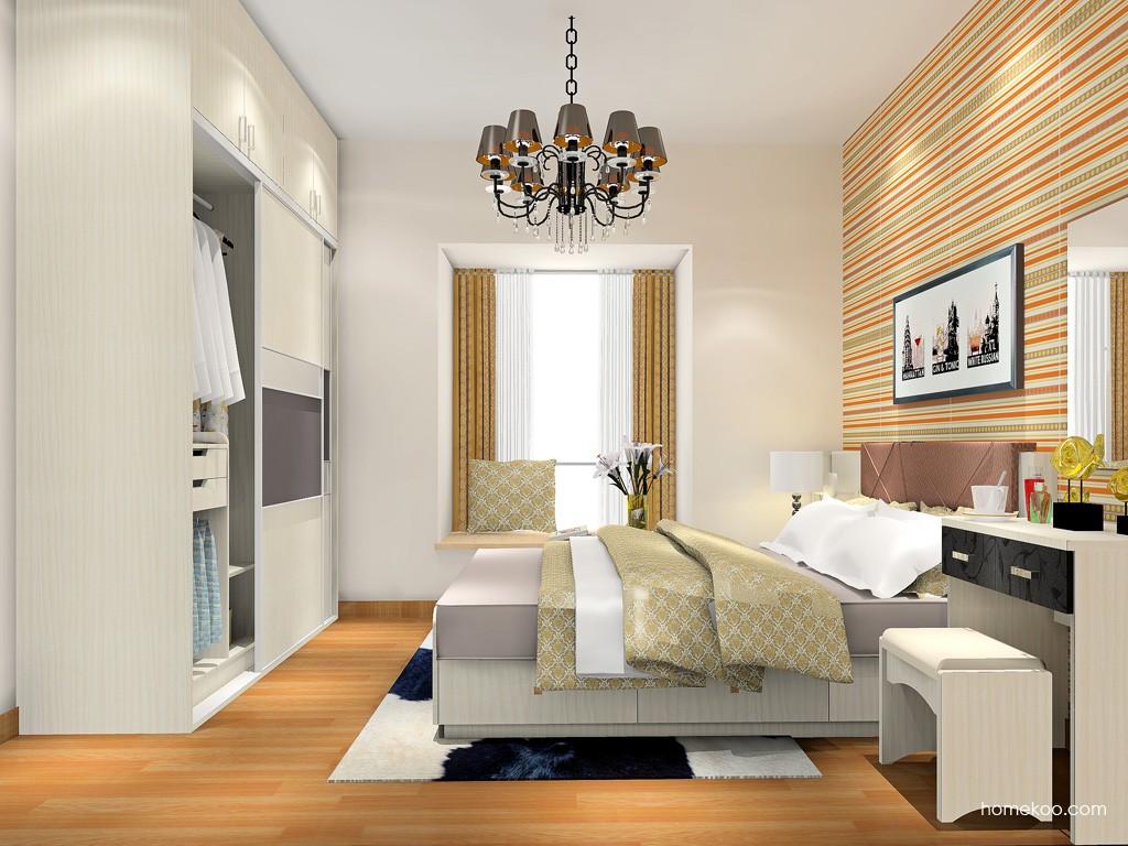 米兰剪影卧房家具A18092