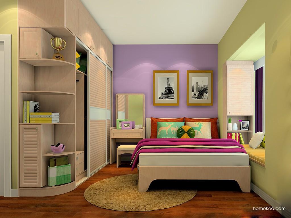 北欧阳光卧房家具A18101
