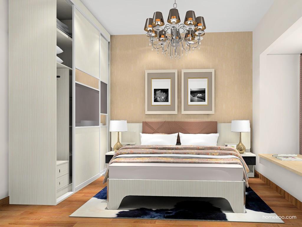 米兰剪影卧房家具A18102