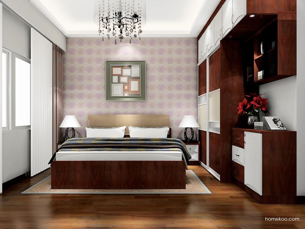 挪威月色卧房家具A18129
