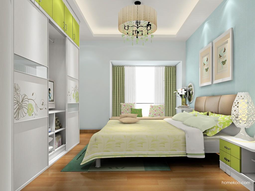 里昂春天卧房家具A18132
