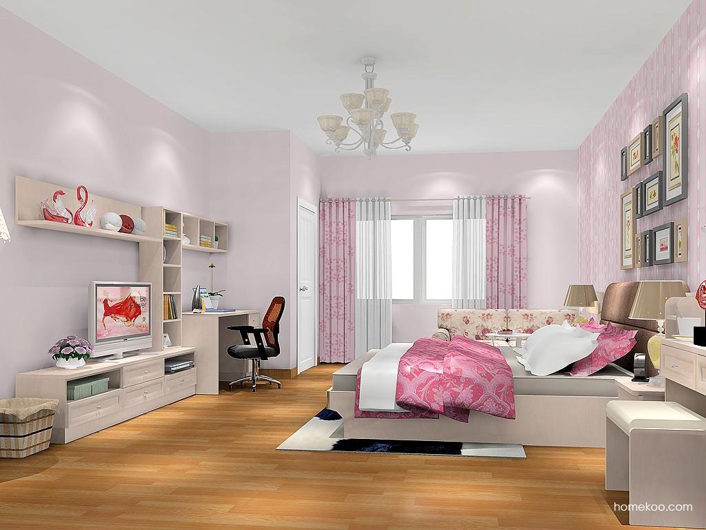 北欧阳光卧房家具A18151