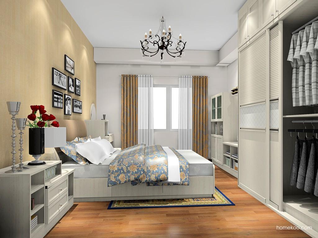 英伦印象卧房家具A18166