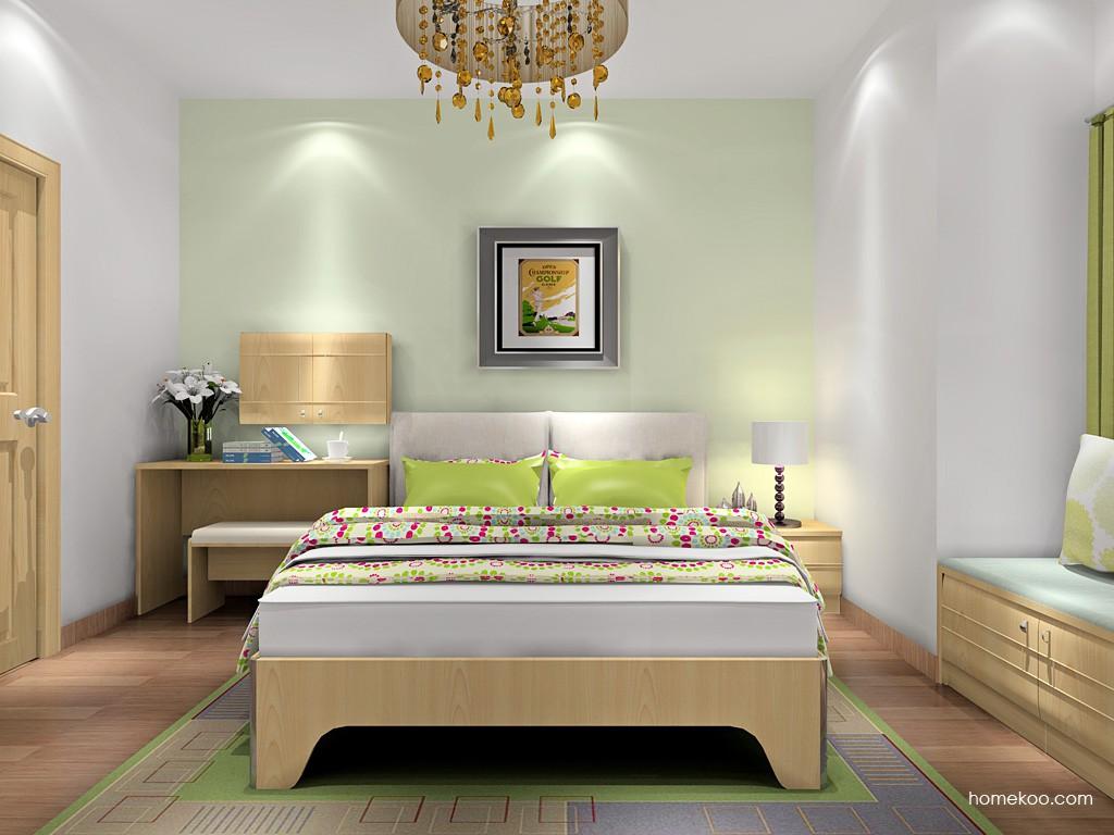 北美枫情卧房家具A18168