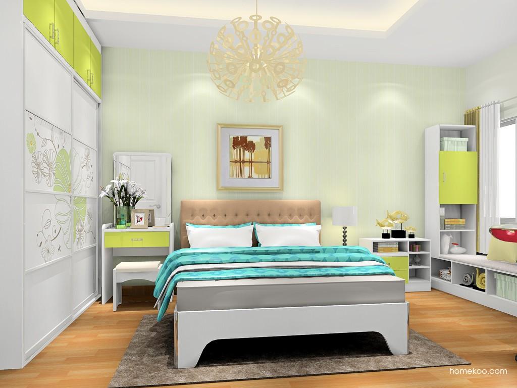 里昂春天卧房家具A18169