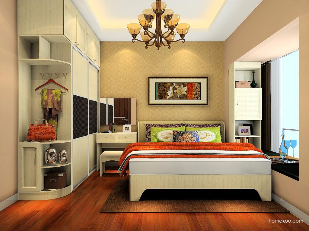 英伦印象卧房家具A18165