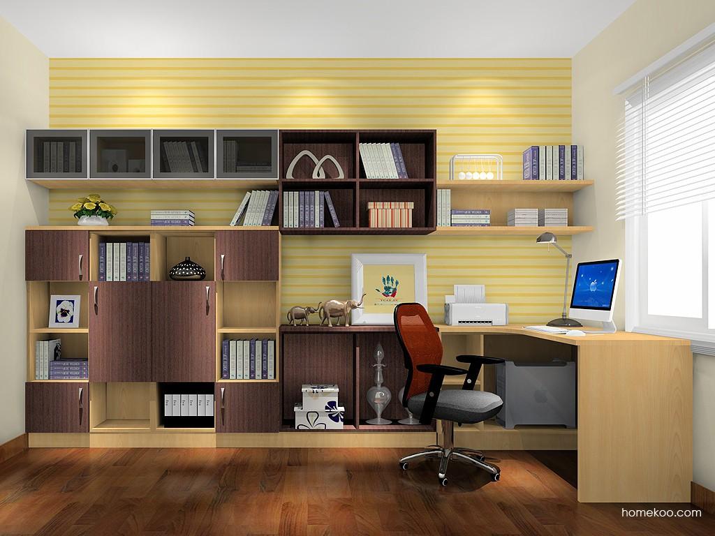 新实用主义书房家具C18460