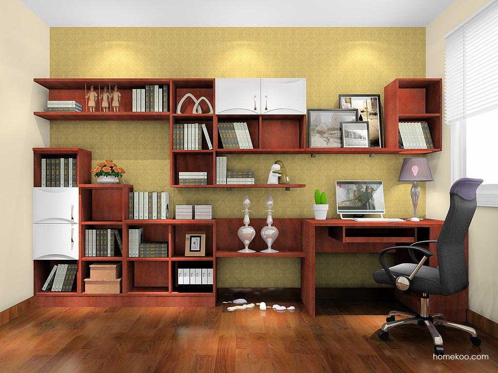 挪威月色书房家具C18469