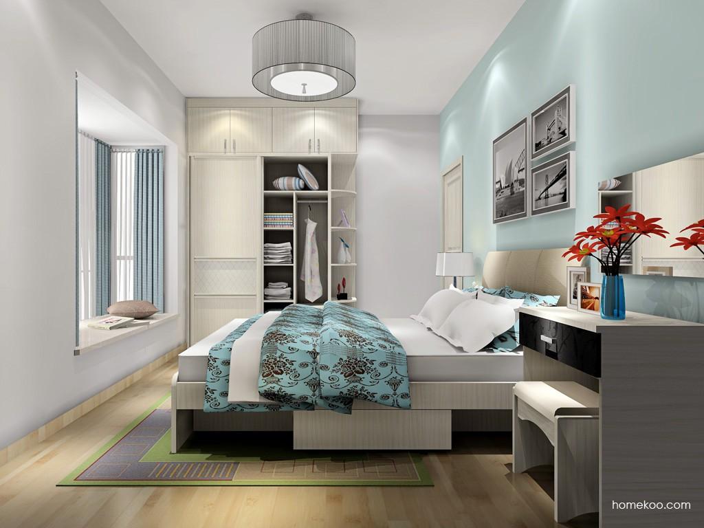 米兰剪影卧房家具A18189