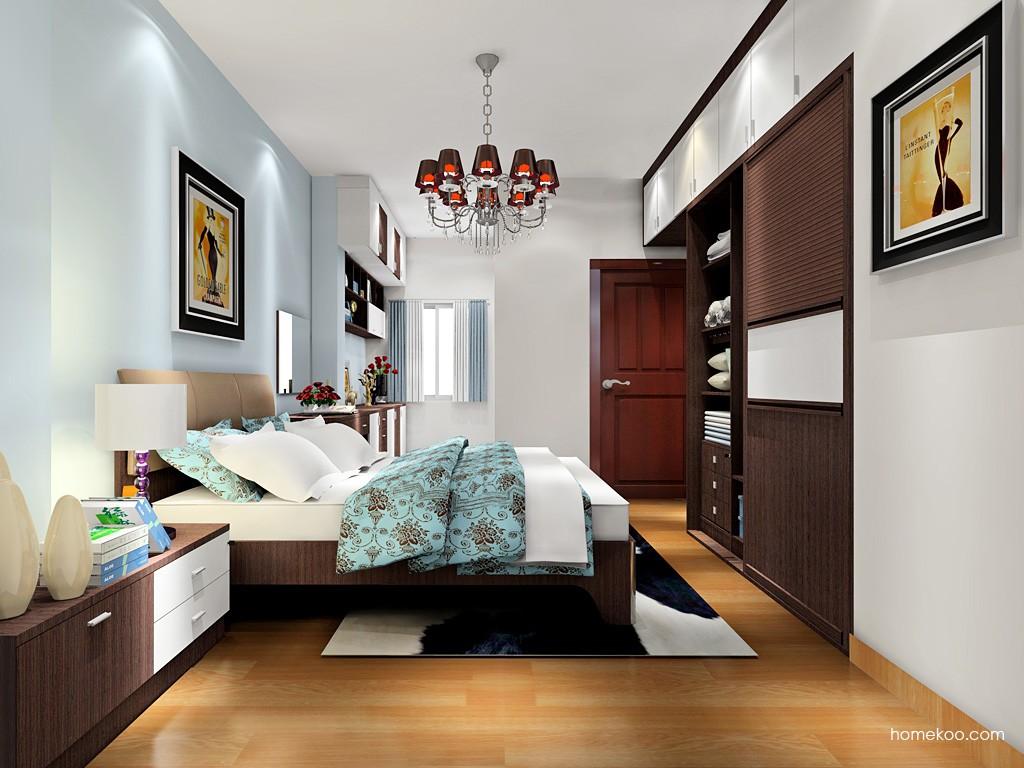 新实用主义卧房家具A18194