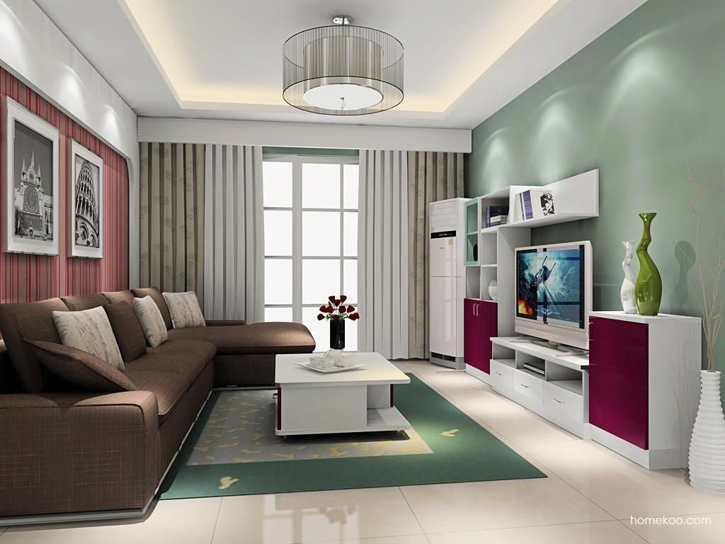 浪漫主义客厅家具D16856