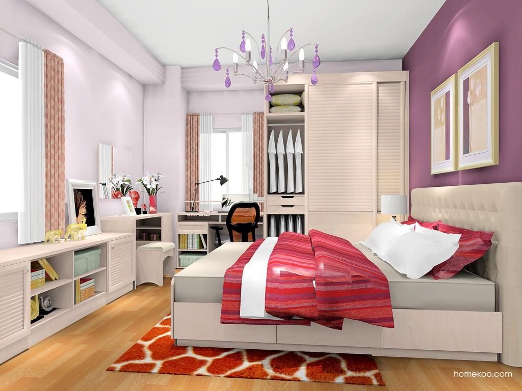 北欧阳光卧房家具A18196