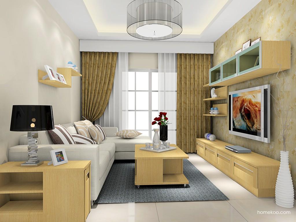 丹麦本色客厅家具D16859