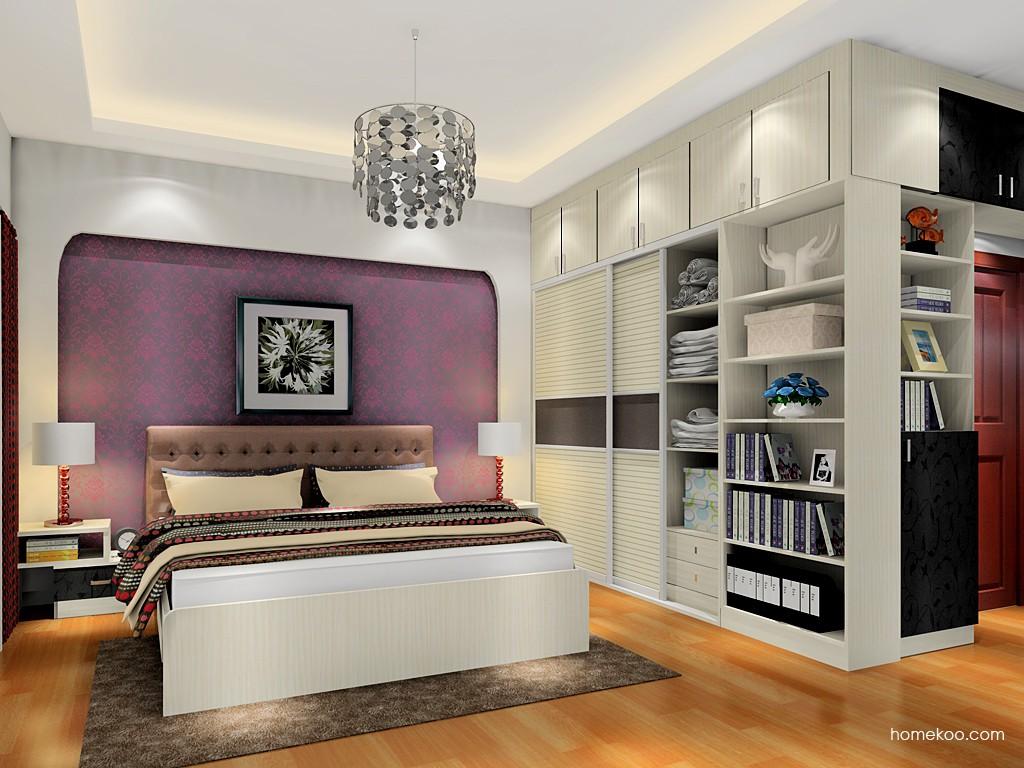 米兰剪影卧房家具A18205