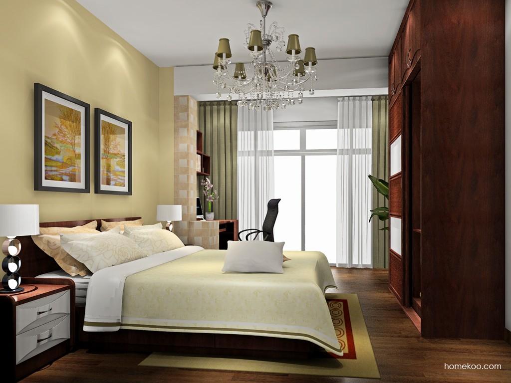 挪威月色卧房家具A18210