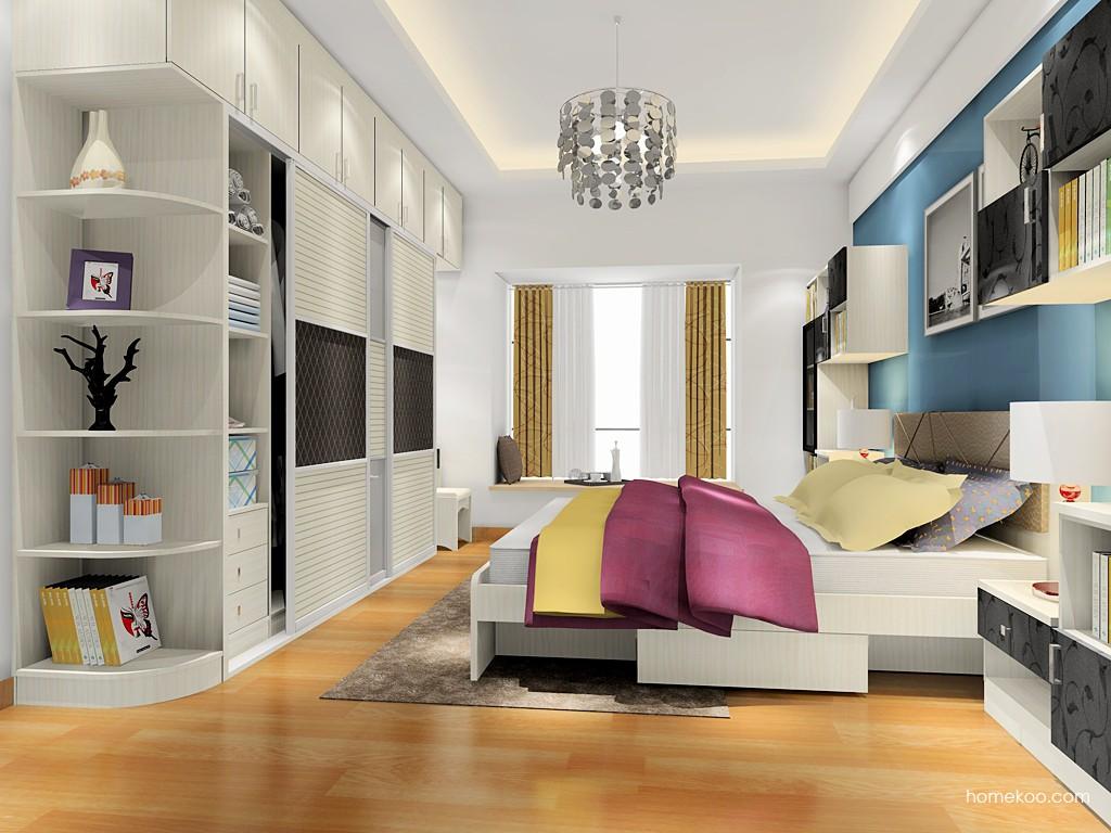 米兰剪影卧房家具A18214