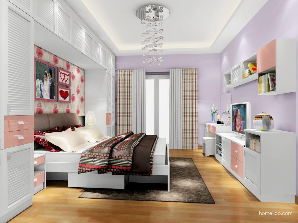 浪漫主义卧房家具A18215