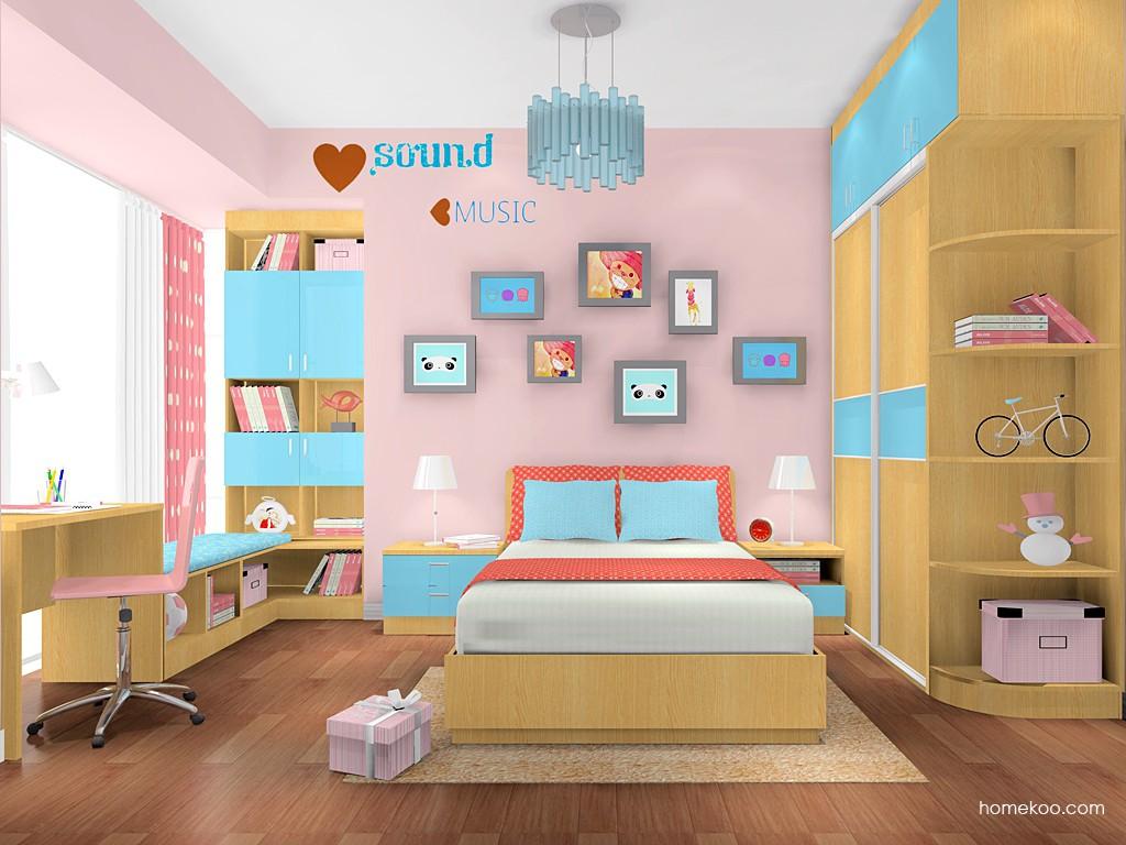 女孩的梦青少年房B17888