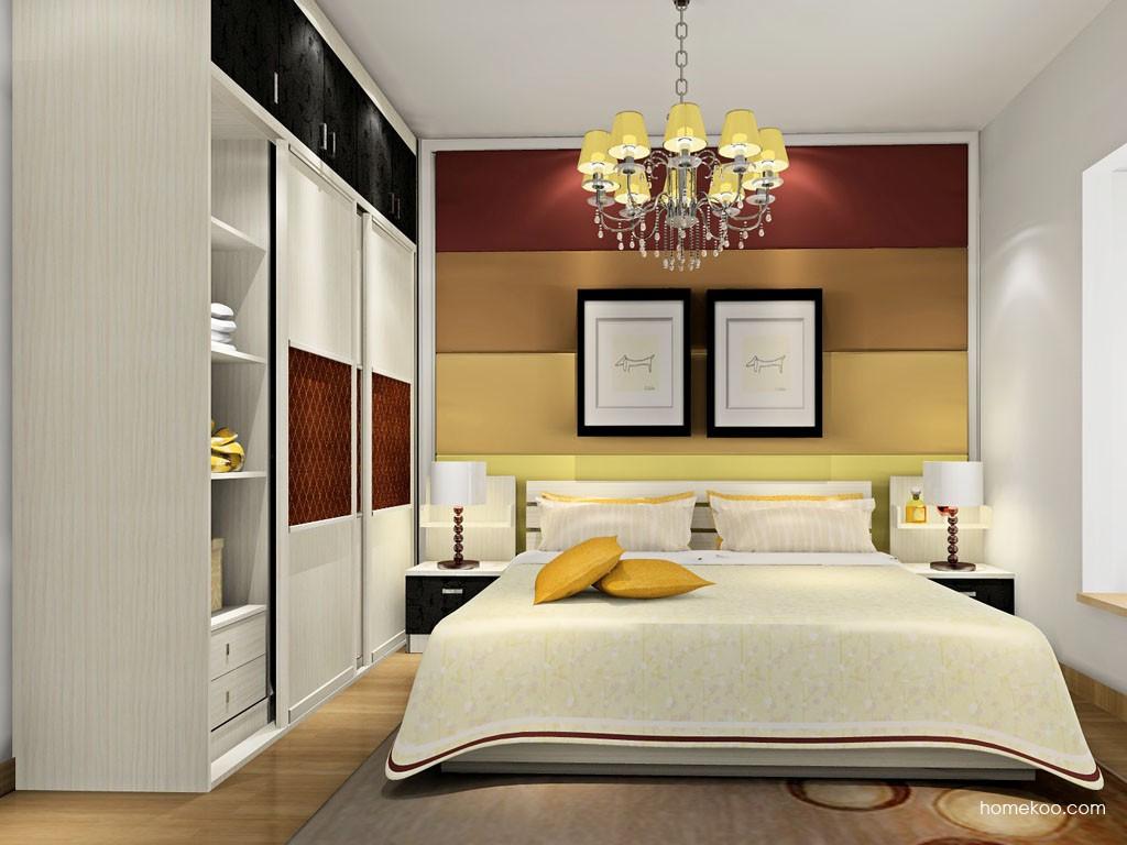 米兰剪影卧房家具A18217
