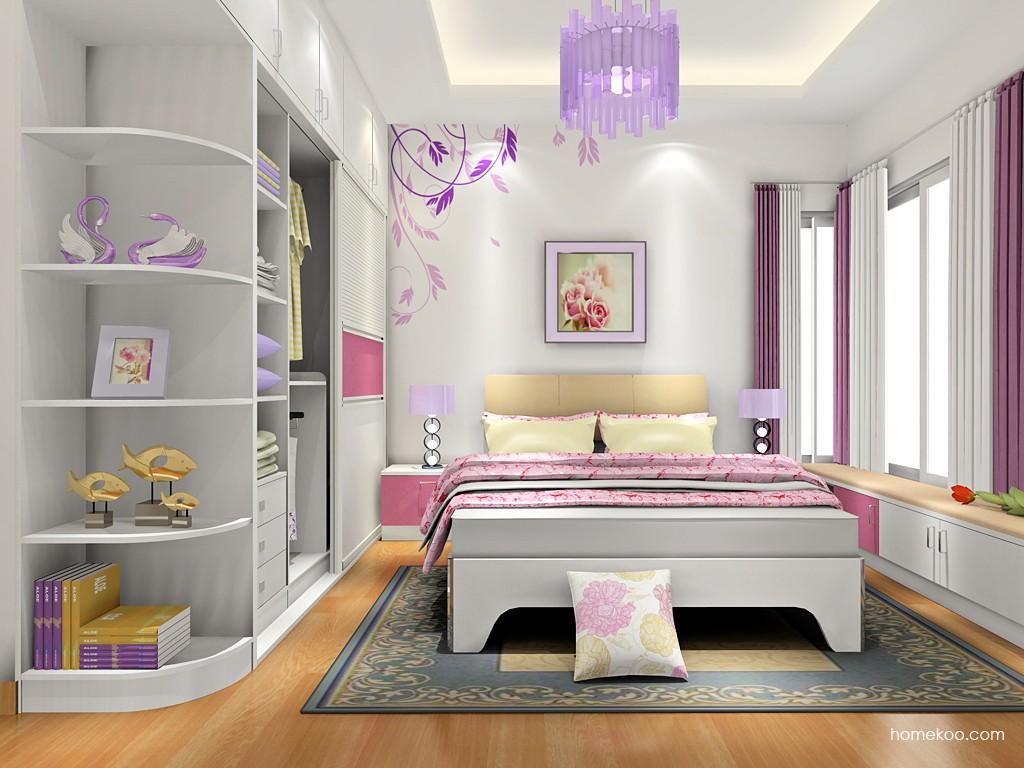 浪漫主义卧房家具A18222