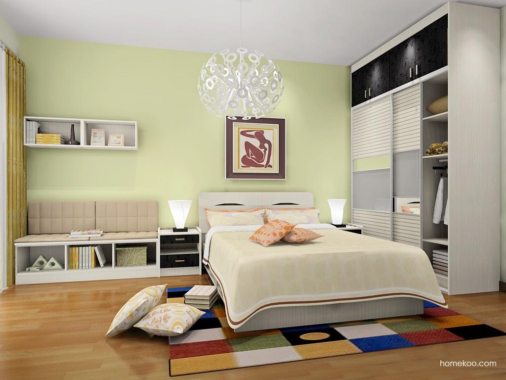 米兰剪影卧房家具A18240