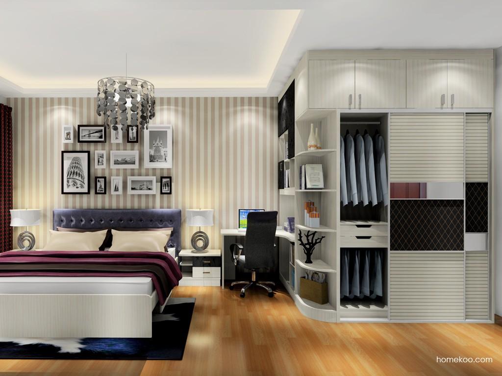 米兰剪影卧房家具A18251