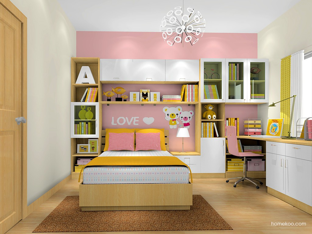 女孩的梦青少年房B17911