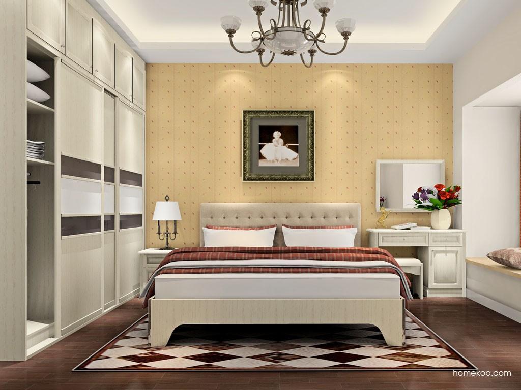 英伦印象卧房家具A18256