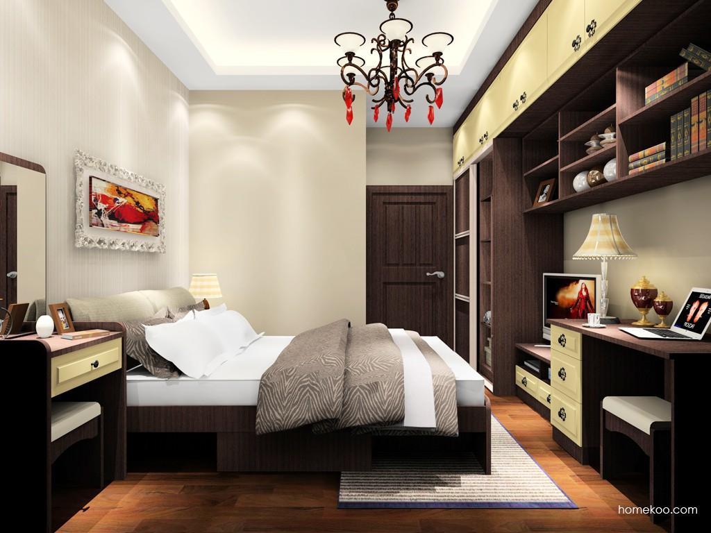 卡罗摩卡卧房家具A18275