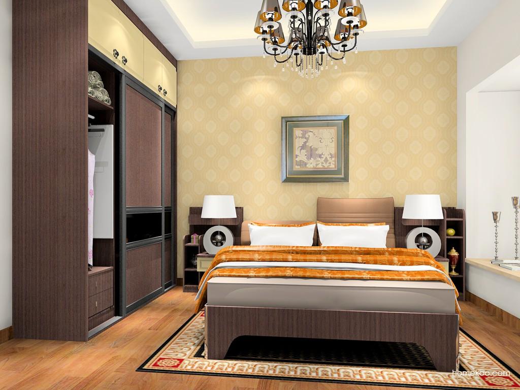 卡罗摩卡卧房家具A18278