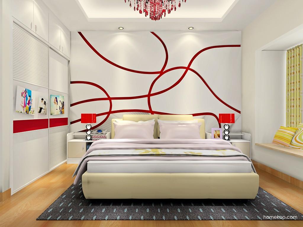 新实用主义卧房家具A18300