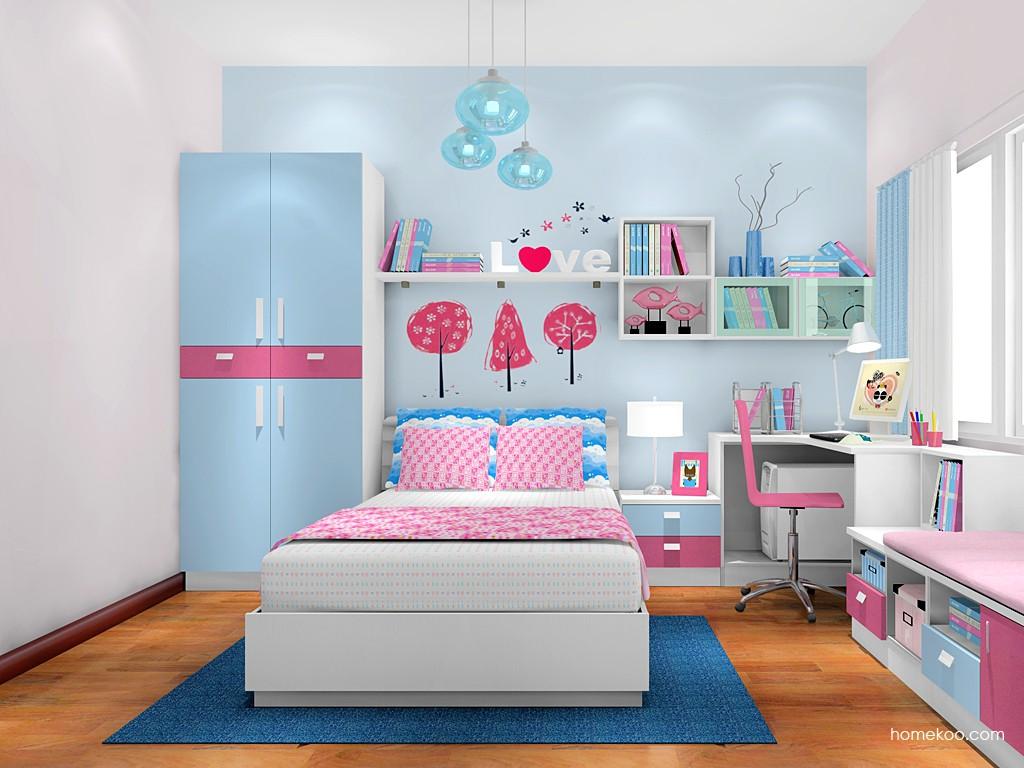 女孩的梦青少年房B17963